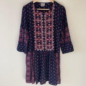 Anthropologie Vanessa Virginia Drop Waist Dress